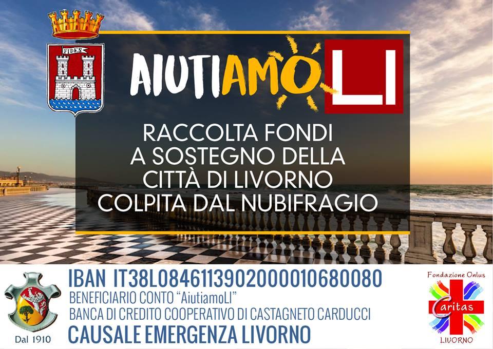 """AiutiamoLI. Il mondo dello sport """"in campo"""" per sostenere Livorno ..."""