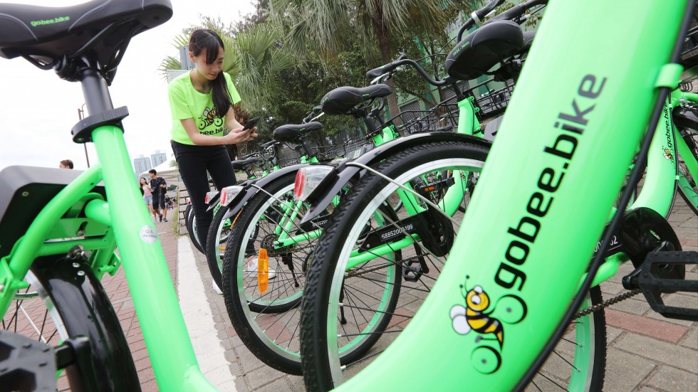 Non solo Mobike: arriva a Firenze Gobee Bike, le nuove bici verdi