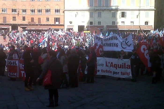 """I sindacati Mps promettono ancora battaglia contro la """"manovra Viola"""""""