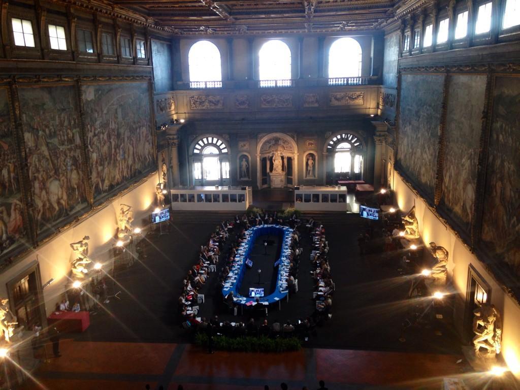 Palazzo Vecchio Sala Dei 500.L Europa Si Confronta Nella Sala Dei 500 Di Palazzo Vecchio