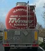 Trasporto alimenti liquidi, provenienza Bordeaux. Perché?