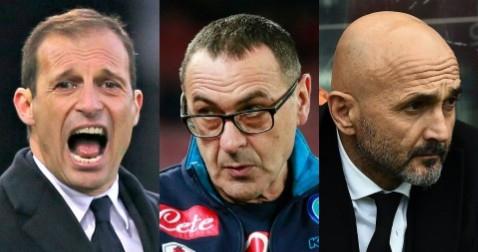 Comanda il Granducato. Max, Maurizio e Luciano: la Serie A parla toscano