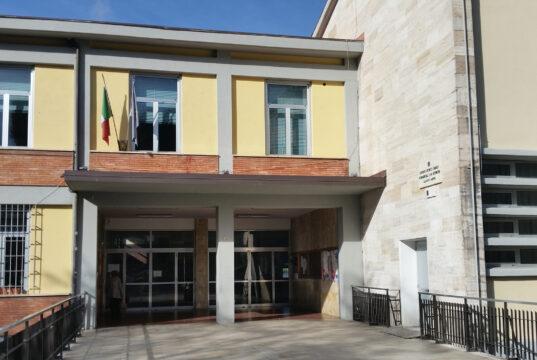 Ingresso dell'Istituto Sallustio Bandini di Siena