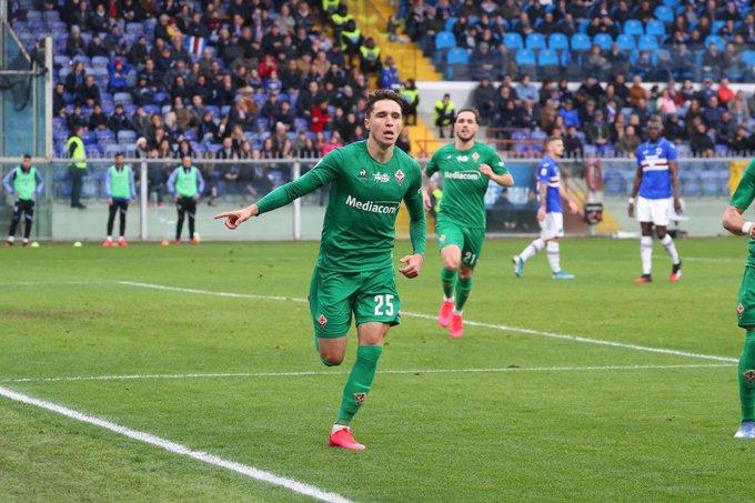 Bottino pieno. La Fiorentina vince a Genova contro la Samp e respira in classifica