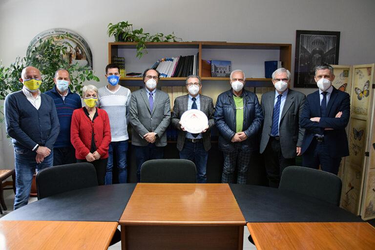 Le sezioni Avis della Toscana della provincia di Siena incontrano il dg dell'ospedale Barretta