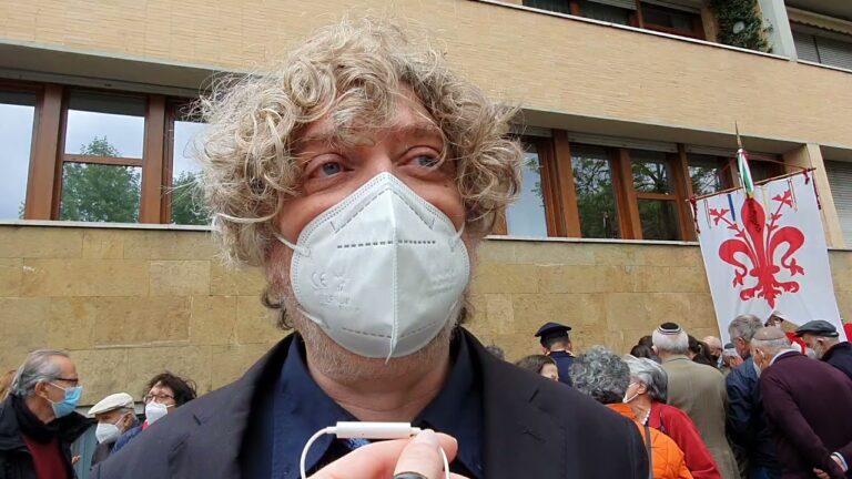 Pietre d'Inciampo, Fink: «Da oggi il segno della memoria è inciso sul tessuto vivo di Firenze»