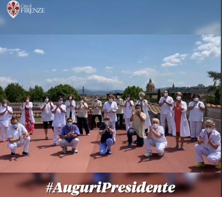 Il Presidente della Repubblica Mattarella compie 80 anni, Firenze gli manda un video di auguri collettivi