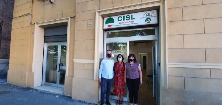 Nuovi locali in centro per Cisl Siena, «Sempre più vicini alle esigenze degli utenti»