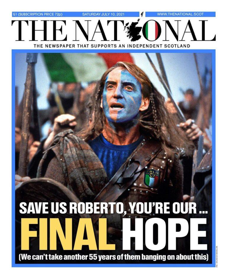 Non è solo una partita di calcio. Come nasce la voglia di indipendenza della Scozia e perché ha festeggiato la vittoria azzurra contro l'Inghilterra
