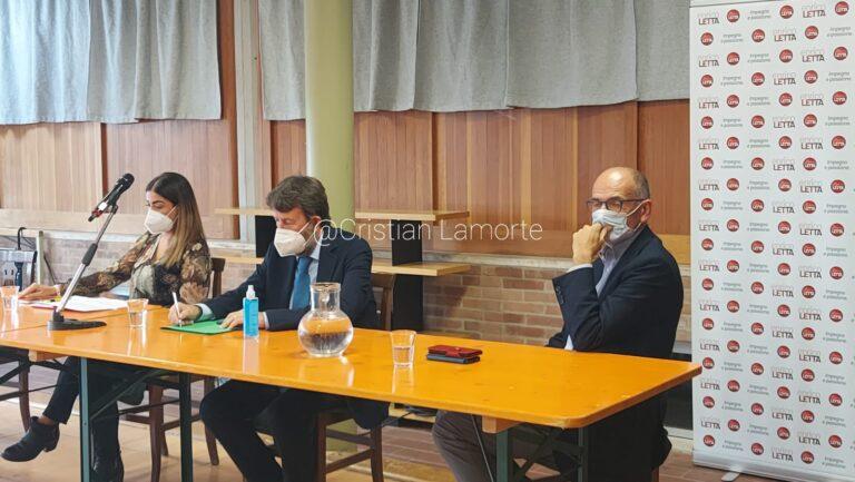 Cultura oltre la pandemia, Franceschini a Siena: «Al lavoro per ampliare capienza delle sale». E per il Santa Maria annuncia «un progetto enorme»