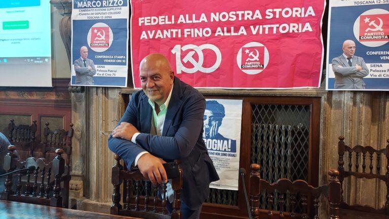Suppletive a Siena, Rizzo si presenta: «Letta non stare sereno»