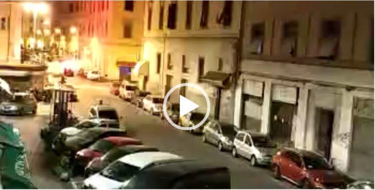 Livorno, terrore in strada con la rissa tra gang. LE IMMAGINI