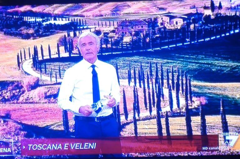 """Crete Senesi associate a """"Toscana e veleni"""", il sindaco di Asciano tuona: «Rettifica e scuse immediate da Giletti e """"Non è l'Arena""""»"""